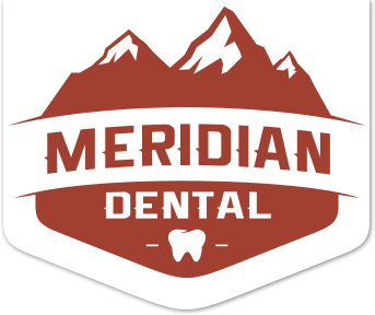 Logo for Meridian Dental, family dental office in Wasilla, AK